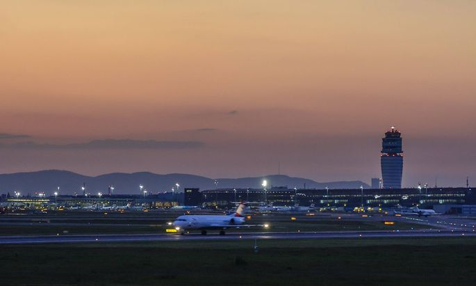 Archivbild: Der Flughafen Wien-Schwechat