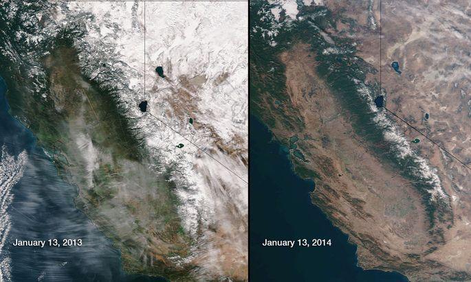 Dürre in Kalifornien: Gouverneur ruft Notstand aus