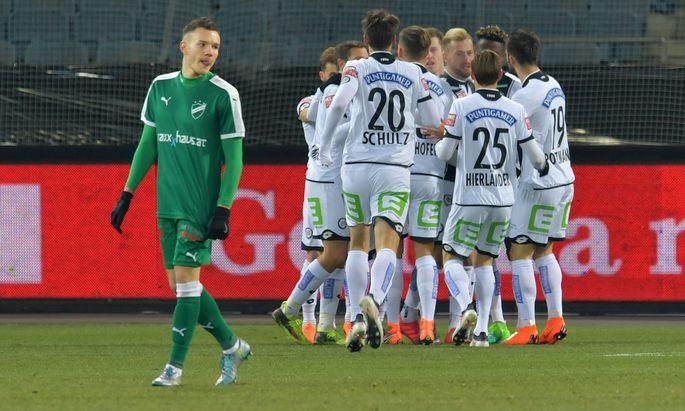 SOCCER - OEFB Cup, Sturm vs Wimpassing