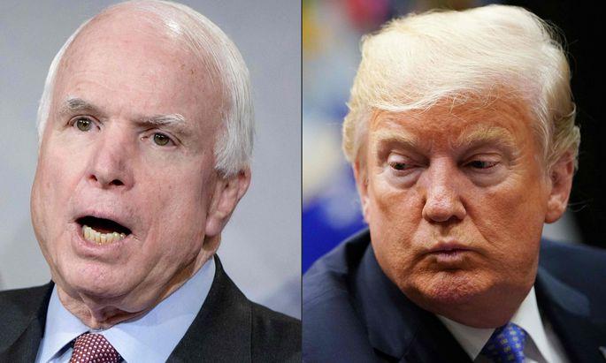 In Washington sorgte Trumps Verhalten in beiden politischen Lagern für schwere Irritationen.