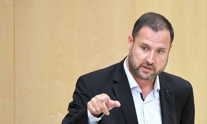 Der Abgeordnete Christian Hafenecker (FPÖ)