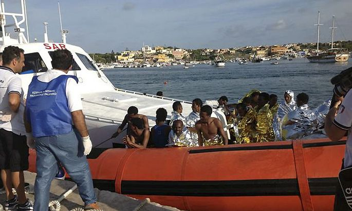Flüchtlingsdrama vor Lampedusa: