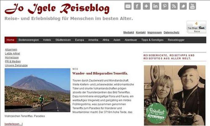 Jo-igele.de, der Reise- und Erlebnisblog für Menschen im besten Alter
