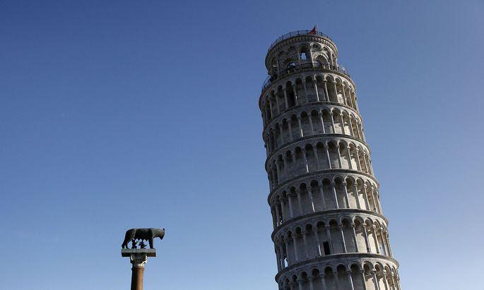 Das Rad soll Ausblick auf den schiefen Turm bieten.