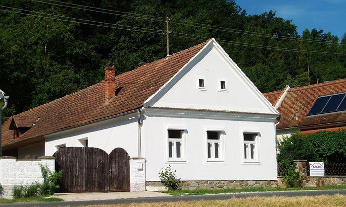 Historisches Weinhaus im Südburgenland.