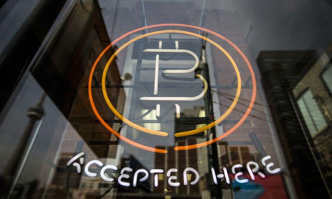 Bitcoin ist über Nacht tief gefallen.
