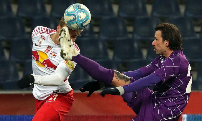 FUSSBALL: UNIQA OeFB-CUP/VIERTELFINALE: FC RED BULL SALZBURG - SK AUSTRIA KLAGENFURT