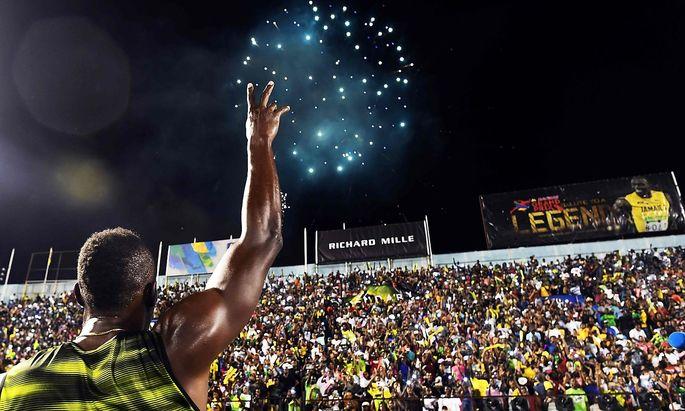 Fans bejubeln Usain Bolt