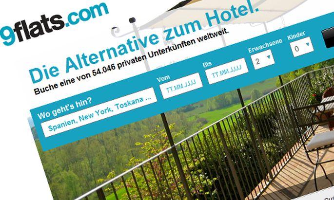 Deutscher Dienst 9flats schluckt