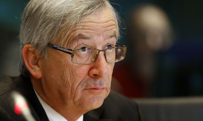 File photo of Luxembourg's then-Prime Minister Juncker testifies before the European Parliament's Committee on Economic and Monetary Affairs in Brussels