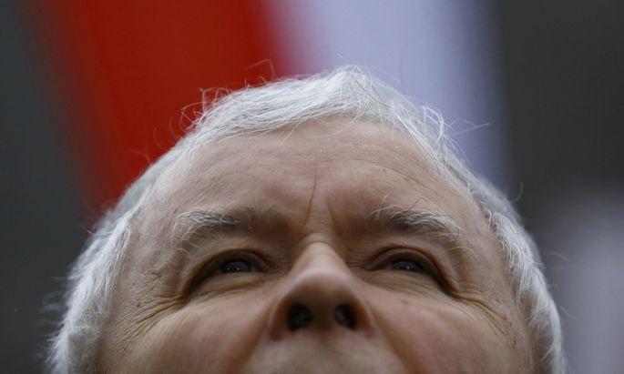 Jarosław Kaczyński, Chef der Regierungspartei PiS.