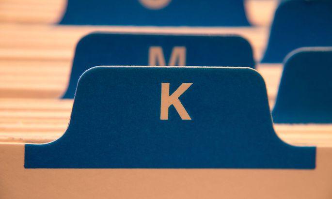 Was passt in die K-Kartei?