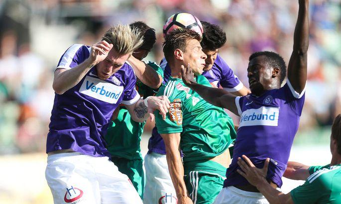 SOCCER - BL, A.Wien vs Rapid