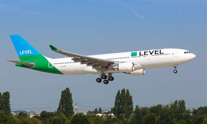 Erst seit dem vergangenen Sommer fliegt Level von Wien ab.