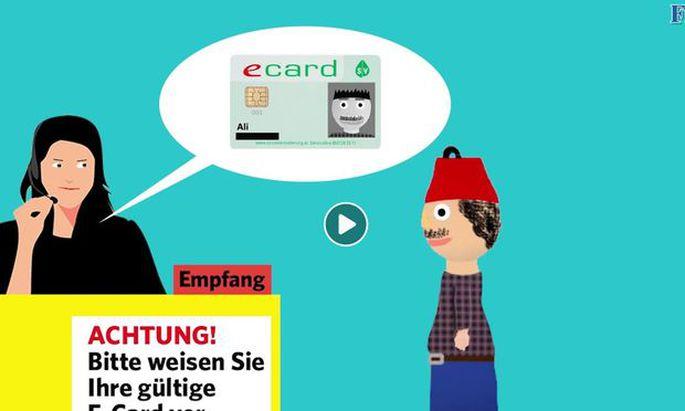 Screenshot auf dem FPÖ-Video – Facebook