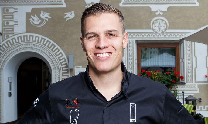 Tiroler Spitzenkoch Benjamin Parth.