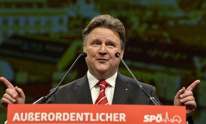 Michael Ludwig, neuer Wiener SPÖ-Chef.