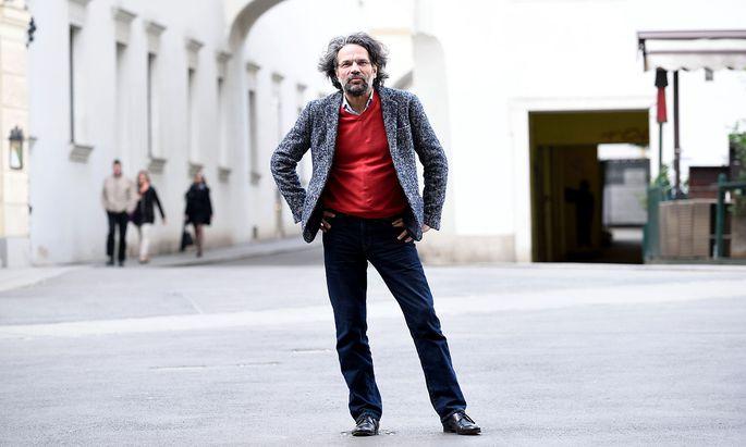 """""""Kunst sagt, was sie nicht weiß"""": Robert Pfaller, Philosoph an der Kunstuniversität Linz."""