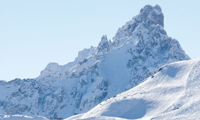 Rekordresort. Courchevel ist Teil des riesenhaften Skigebiets Les Trois Vallées.