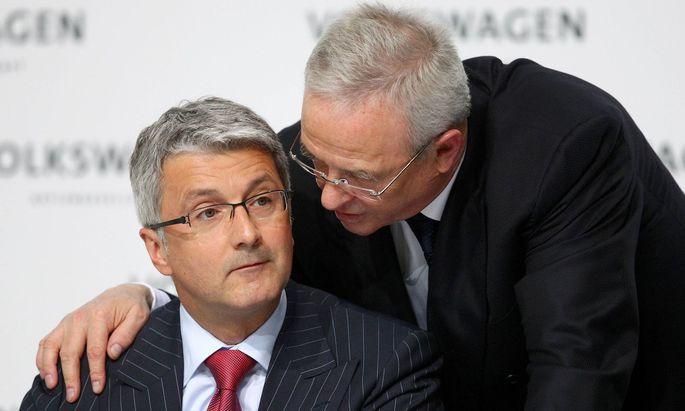 Montag 12 03 2012 Jahrespressekonferenz der Volkswagen AG in Wolfsburg Vorstandsvorsitzender der A