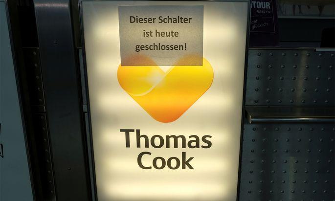 Thomas Cook ging vor einem Monat pleite.