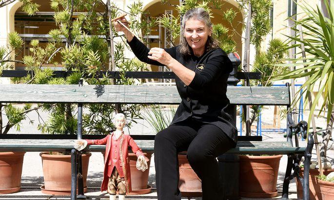 """Im Sommer zeigt Hierzer-Riedler die """"Zauberflöte"""" – und Mozart ist auch dabei."""