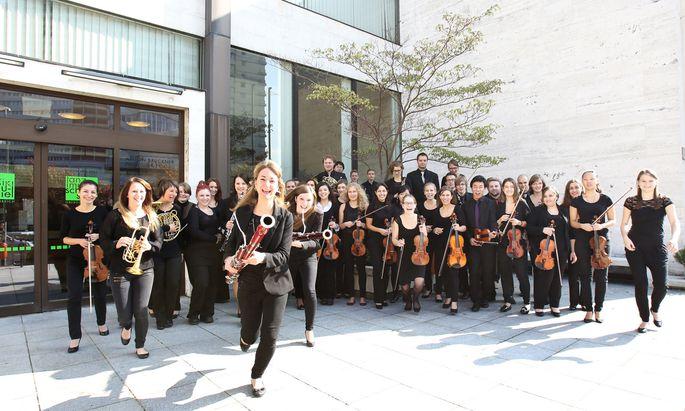 Die Anton-Bruckner-Privat-Uni unterhält auch ein eigenes Symphonieorchester.
