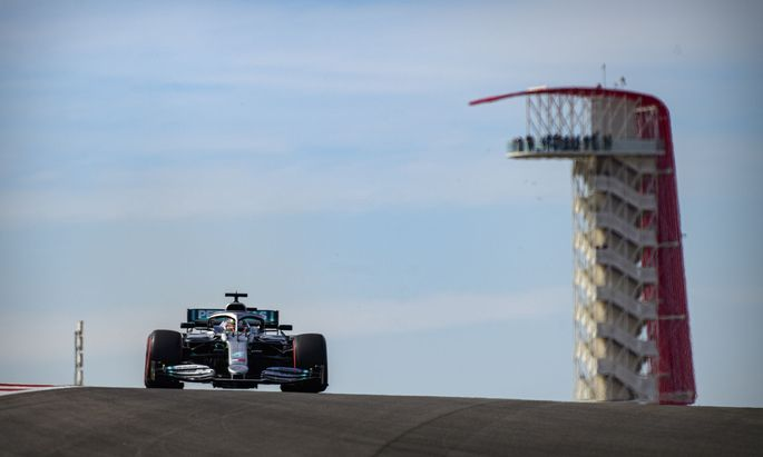 Formula One: United States Grand Prix-Practice