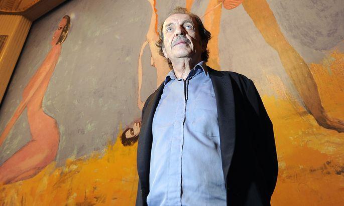 Der österreichische Künstler Franz West starb im Juli 2012.