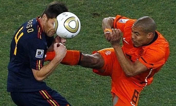 Fussball zeigt keine Zeitlupen