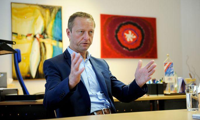 Burgenlands Landeshauptmannstellvertreter Johann Tschürtz (FPÖ)
