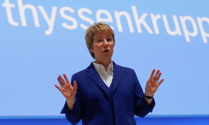 Thyssenkrupp-Chefin Martina Merz: Wir haben Boden gutgemacht