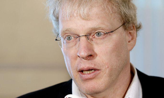 Alexander Egit, Geschäftsführer von Greenpeace in Zentral- und Osteuropa.
