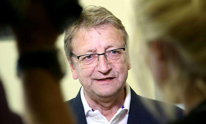 Der frühere Salzburger FPÖ-Obmann Karl Schnell