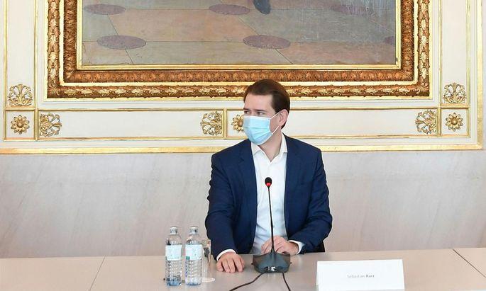 Sebastian Kurz (ÖVP) will mit Massentests die Weihnachtszeit etwas sicherer machen.