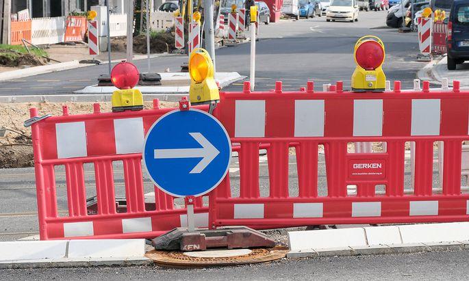 Baustelle Warnleuchte