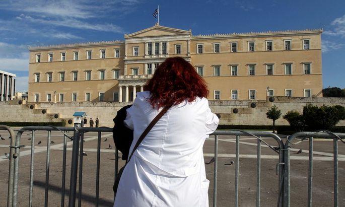 GREECE ECONOMIC CRISIS STRIKE