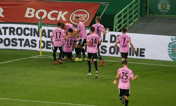 SOCCER - UEFA EL, Sporting vs LASK