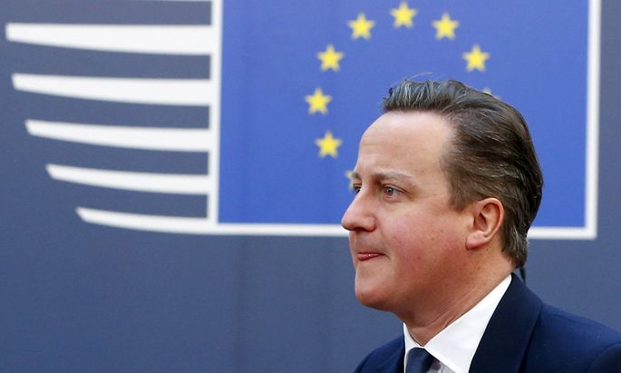Premierminister David Cameron.