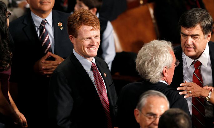 FILE PHOTO: Joseph Kennedy III joins the 113th Congress in Washington