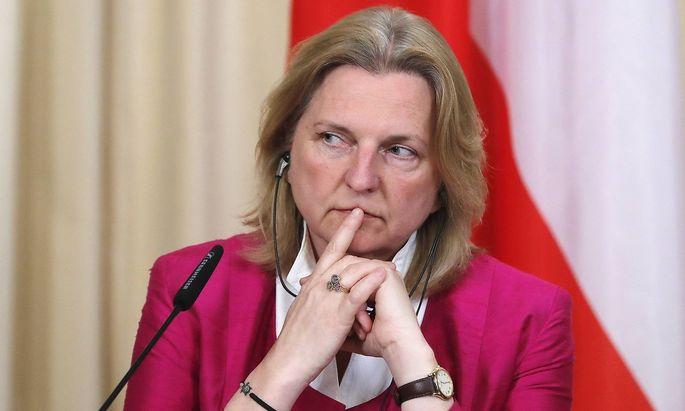 """Karin Kneissl: """"Es muss eine Verhandlungslösung für Jerusalem und für einen palästinensischen Staat her."""" (Archivbild)"""