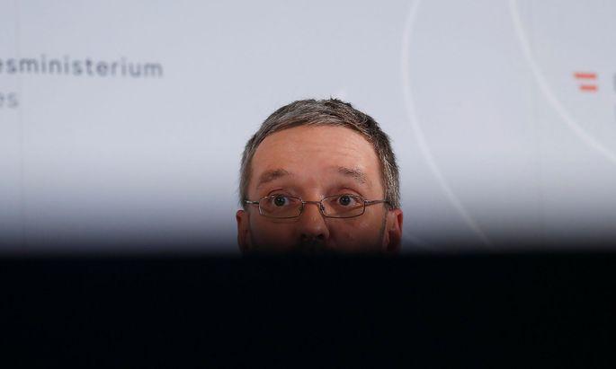 Ex-Innenminister Herbert Kickl, FPÖ