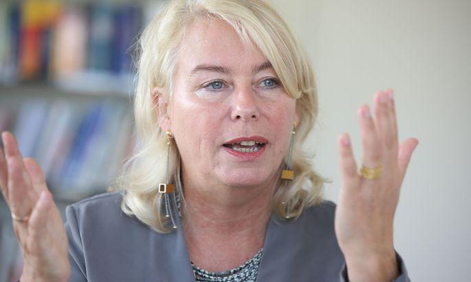 WU-Rektorin Edeltraud Hanappi-Egger.