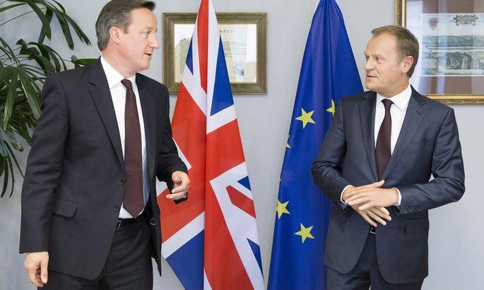 David Cameron und Donald Tusk.