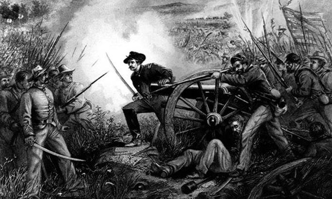 150 Jahre US-Bürgerkrieg: USA immer noch gespalten