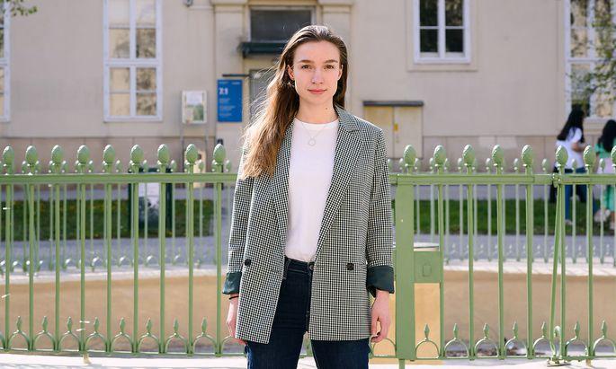 Sophie Wotschke ist Spitzenkandidatin der Jungen Liberalen Studierenden (Junos).