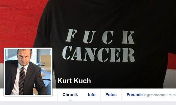 Facebookseite von Kurt Kuch