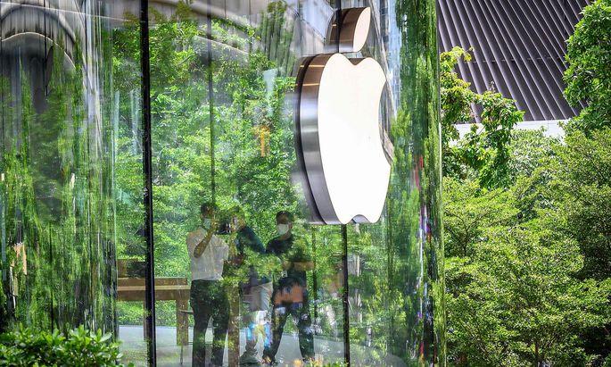 Ein Bild vom neuen Applestore in Bangkok, Thailand.