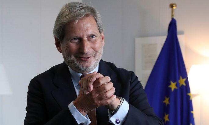 Budgetkommissar Johannes Hahn.