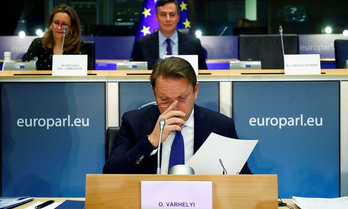 Olivér Várhelyi wird Erweitungskommissar in der Kommission von Ursula von der Leyen.